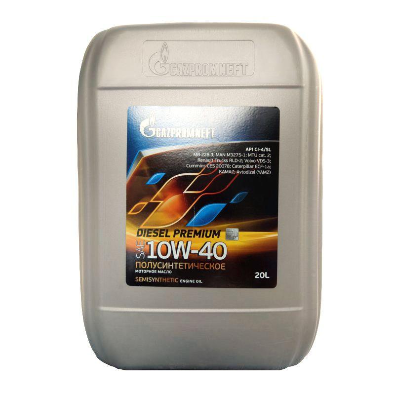 Дизельное масло Газпром 15w40, 10w40