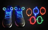 Светящиеся LED шнурки (LED Shoelace), Алматы