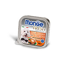 Влажный корм для собак Monge Fresh Dog паштет с индейкой (безглютеновый рацион)