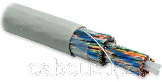Hyperline UUTP100-C5-S24-IN-PVC-GY (UTP100-C5-SOLID-INDOOR) Кабель витая пара, неэкранированная U/UTP, категория 5, 100 пар (4 пары (24 AWG)х25),