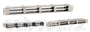 """Hyperline PPTR-19-8CU-STL Патч-панель 19"""" для претерминированных медных и оптических кассет, 8 слотов под кассеты, 1U"""