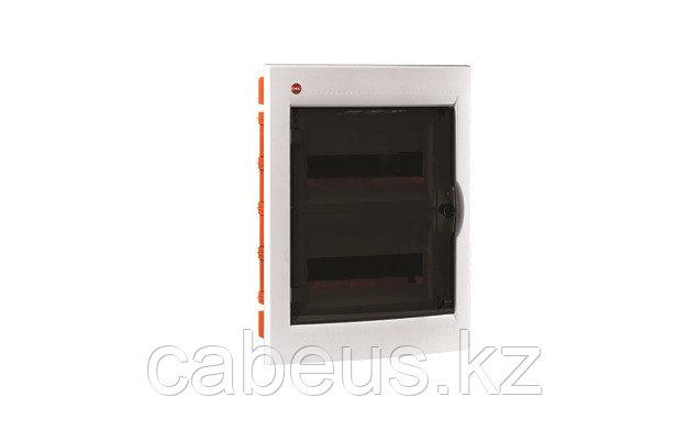 DKC / ДКС 81524 Щиток встраеваемый 2 ряда, 24(2x12) модуля, с прозрачной дверцей, без клеммных колодок, IP41, цвет белый RAL 9016