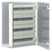 DKC / ДКС R5TM64 Панель для модульного оборудования, 600х400 (ВхШ), 64(4x16)модулей, для шкафов серий CE/ST, IP20, цвет серый RAL 7035