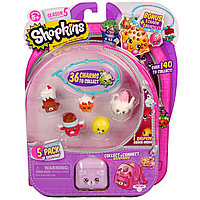 Moose: Shopkins 5 сезон, 5шт. в блистере