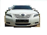 Накладки на фары (реснички) на Toyota Camry 40, фото 1