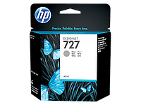 HP  Gray Ink Cartridge №727 for DesignJet T1500/T2500/T920, 40 ml. ;