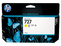 HP  Yellow Ink Cartridge №727 for DesignJet T1500/T2500/T920, 130 ml. ;