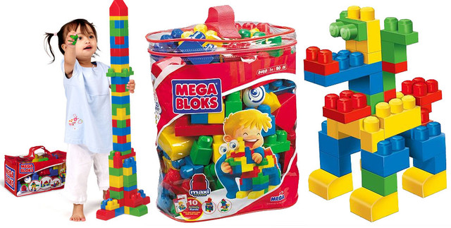 Mega Bloks 1+
