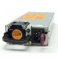 A HP Generic 1U power supply - Rated at 750 Watts output, 12V DC DPS-750RB