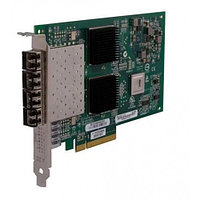 Qlogic 8Gbps quad-port Fibre Channel-to-x8/x8 PCI Express adapter, multi-mode opti QLE2564-CK