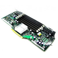 Плата Memory Board Dell Extension Memory Riser Board 4xslots DDRII-667 PC2-6400/PC2-5300 For PowerEdge 6800 6850 N4867