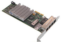 Контроллер HP NC375T PCI Express Quad Port Gigabit Server Adapter HSTNS-BN50 128Mb 4х1Гбит/сек 4xRJ45 LP PCI-E4x 539931-001