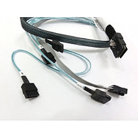 HP Mini 4 SATA to Mini SAS 38in Cable Assembly 591475-B21:Кабель