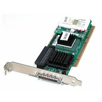 Контроллер RAID SCSI Dell PERC4/SC PCBX520-A2 LSI531020/Intel GC80302 64Mb Int-1x68Pin Ext-1xVHDCI RAID50 UW320SCSI LP PCI/PCI-X For