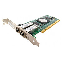 Сетевой Адаптер IBM DS4000 (Qlogic) QLA2462-IBMX FC2410401-37 2х4Гбит/сек Dual Port Fiber Channel HBA LP PCI-X 2.0 266Mhz 39M6014