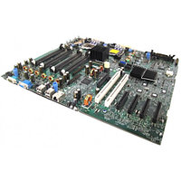 Материнская Плата Dell i5000P Dual Socket 771 8FBD 4SATAII 4PCI-E8x 2PCI-X SVGA 1GbLAN E-ATX 1333Mhz For PowerEdge 1900 TW855