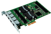 Сетевая Карта IBM Quad Port Server Adapter (Intel) EXPI9404PTL Pro/1000 PT i82571GB 4х1Гбит/сек 4xRJ45 LP PCI-E4x 39Y6138