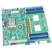 Материнская Плата Dell Broadcom HT-2100 Quad S-F 12DualDDRII-667 9PCI-E8x 2xGbLAN E-ATX 2000Mhz For PowerEdge 6950 XK007