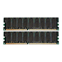 HP 2GB (2x1GB) PC2-5300 SDRAM Kit 397411-B21