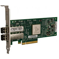 Qlogic Dual-port 10GbE-to-PCI Express Converged Network Adapter with SFP+ SR optical modules supporting distances up to 300m QLE8142-SR-CK