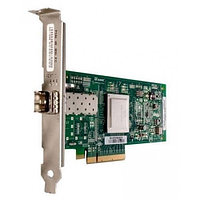Qlogic 8Gbps single-port Fibre Channel-to-x4/x8 PCI Express adapter, multi-mode optic QLE2560-CK