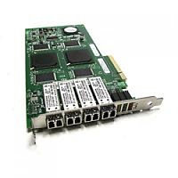 Сетевой Адаптер Network Appliance (NetApp) (Qlogic) QLE2464-NAP PX2610402-05 4х4Гбит/сек Quad Port Fiber Channel HBA LP PCI-E4x 111-00285+A0