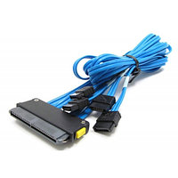 Кабель HP 4-port Serial ATA (SATA) signal cable - ML350 G4p only 389950-001