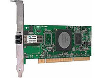Qlogic 4Gbps single-port Fibre Channel-to-PCI-X 2.0 266 MHz adapter, multi-mode optic QLA2460-CK