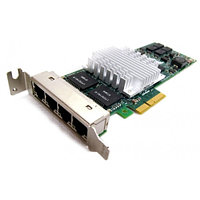 Сетевая Карта IBM Quad Port Server Adapter (Intel) EXPI9404PTL Pro/1000 PT i82571GB 4х1Гбит/сек 4xRJ45 LP PCI-E4x 39Y6137