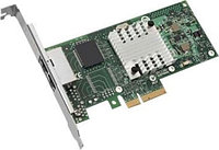 Сетевая Карта IBM (Intel) i340-T2 Dual Port Server Adapter i82571EB 2х1Гбит/сек 2xRJ45 LP PCI-E4x 49Y3758