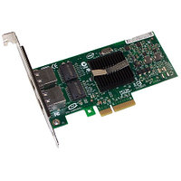Сетевая Карта IBM (Intel) EXPI9402PT Pro/1000 PT Dual Port Server Adapter i82571EB 2х1Гбит/сек 2xRJ45 LP PCI-E4x 39Y6127