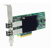 Сетевой Адаптер IBM (Emulex) LPE11002 FC1120005-01C L2B2777 2х4Гбит/сек Dual Port Fiber Channel HBA LP PCI-E4x 43W7511