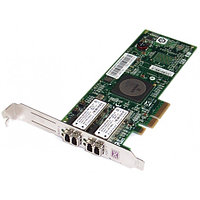 Сетевой Адаптер IBM (Emulex) LPE11002 FC1120005-01C L2B2777 2х4Гбит/сек Dual Port Fiber Channel HBA LP PCI-E4x 43W7512