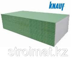 Гипсокартон Knauf (Кнауф) влагостойкий стенавой 12,5 мм