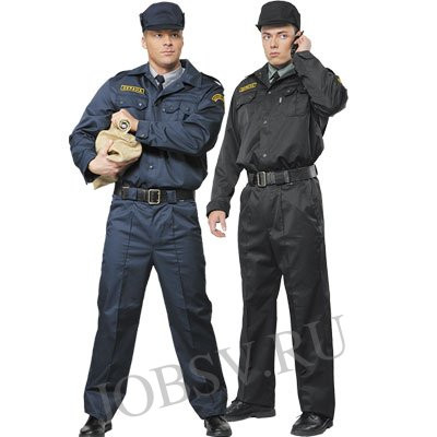 """Костюм охраника, летний """"Кузет"""" полный комплект (рубашка,галстук, кепи, брюки, китель)"""