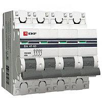 ВА 47-63, 4P 20А (D) EKF PROxima