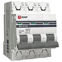 ВА 47-63 6кА, 3P 32А (C) EKF PROxima