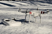 Эксплуатация квадрокоптера зимой