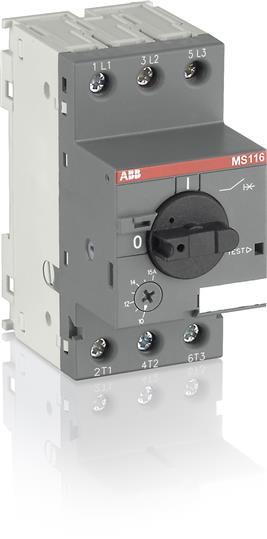 1SAM250000R1011 Автомат защиты двигателя MS116-16.0 16кА (10-16А)