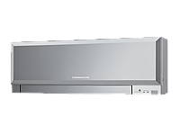 Внутренний блок настенного типа инверторной мульти сплит системы Mitsubishi Electric MSZ-EF25VES (silver) серия Design