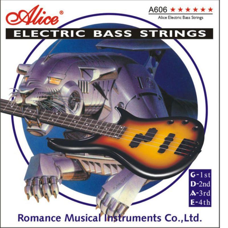 Струны для бас гитары Alice A606(4 струны)