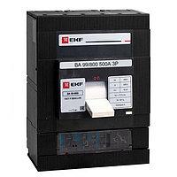 Автоматический выключатель ВА-99 800/500А 3P 35кА EKF PROxima