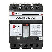 Автоматический выключатель ВА-99 160/125А 3P 35кА EKF PROxima