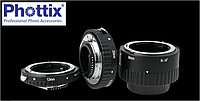 Переходные макро кольца Phottix Macro Extension Tube для Canon