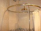 Гардины для ванной из нержавеющей стали, фото 2