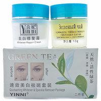 Yinni Набор косметический от пигментных пятен «Зеленый чай» 2 в 1