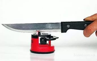 Tочилка для ножей на присоске Knife Sharpener
