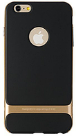 Карбоновый чехол Rock Royce Series Case для Iphone 5/5S/SE (золотистый)