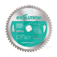 Диск Evolution EVOBLADE230AL 230х25,4х2,0х80 по алюминию