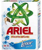 Ariel чистота Deluxe touch of lenor fresh  450г
